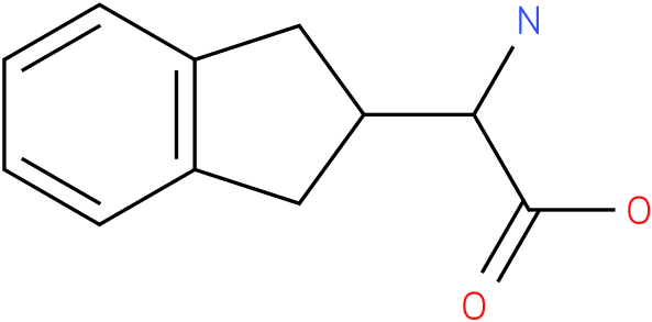 2-amino-2-(2,3-dihydro-1H-inden-2-yl)acetic acid