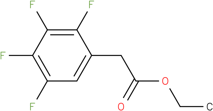 ethyl 2-(2,3,4,5-tetrafluorophenyl)acetate