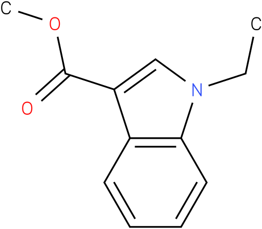 1H-INDOLE-3-CARBOXYLIC ACID,1-ETHYL-,METHYL ESTER