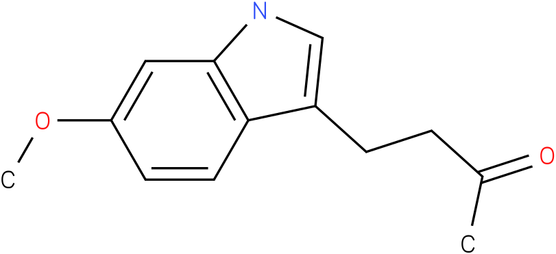 2-BUTANONE,4-(6-METHOXY-1H-INDOL-3-YL)-