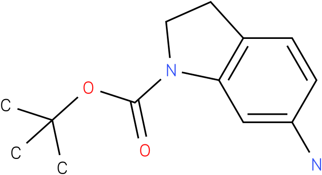 1H-INDOLE-1-CARBOXYLIC ACID,6-AMINO-2,3-DIHYDRO-,1,1-DIMETHYLETHYL ESTER