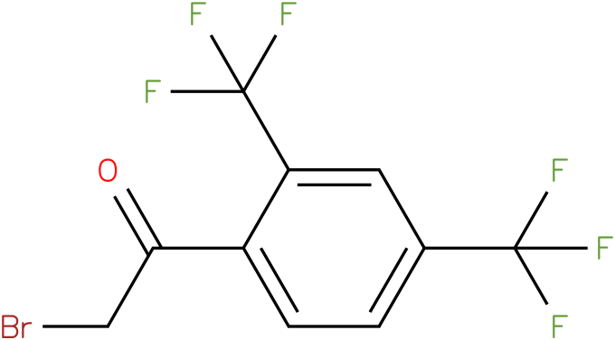 2,4-bis(trifluoromethyl)phenacyl bromide