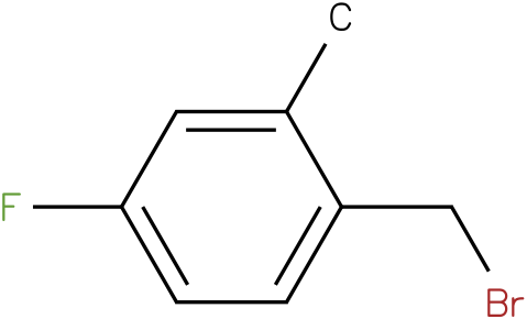 1-(bromomethyl)-4-fluoro-2-methylbenzene