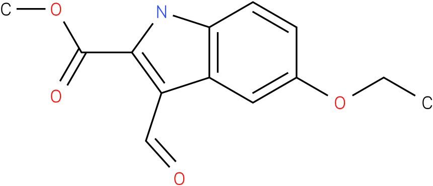 1H-INDOLE-2-CARBOXYLIC ACID,5-ETHOXY-3-FORMYL-,METHYL ESTER