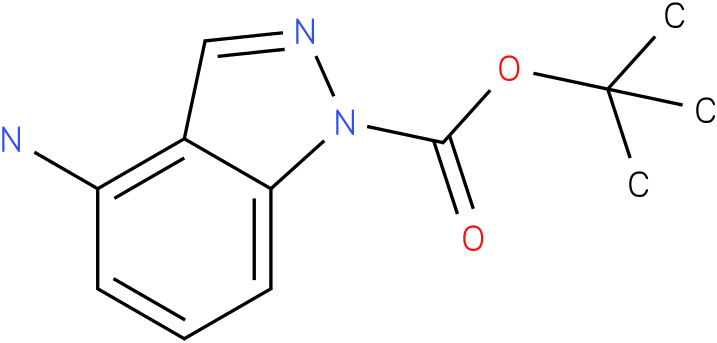 1H-INDAZOLE-1-CARBOXYLIC ACID,4-AMINO-,1,1-DIMETHYLETHYL ESTER-