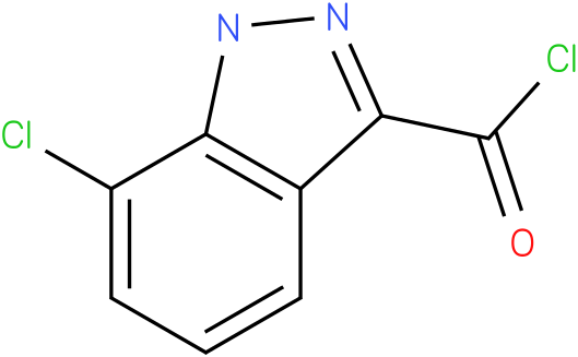 7-CHLORO-1H-INDAZOLE-3-CARBONYL CHLORIDE