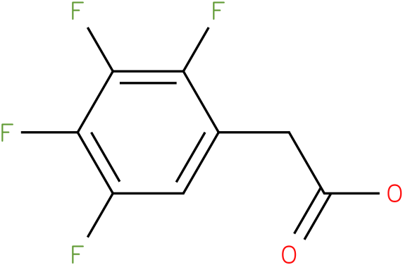 2-(2,3,4,5-tetrafluorophenyl)acetic acid