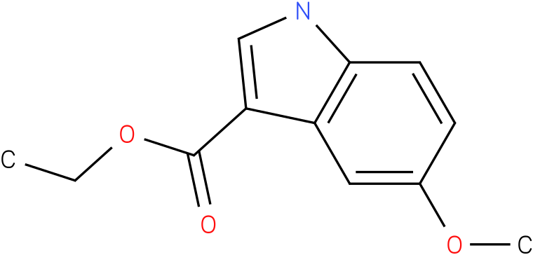 1H-INDOLE-3-CARBOXYLIC ACID,5-METHOXY-,ETHYL ESTER