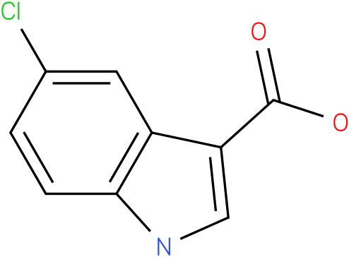 1H-INDOLE-3-CARBOXYLIC ACID,5-CHLORO