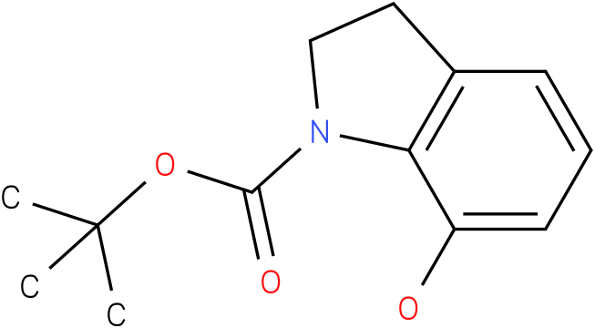 1H-INDOLE-1-CARBOXYLIC ACID,2,3-DIHYDRO-7-HYDROXY-,1,1-DIMETHYLETHYL ESTER