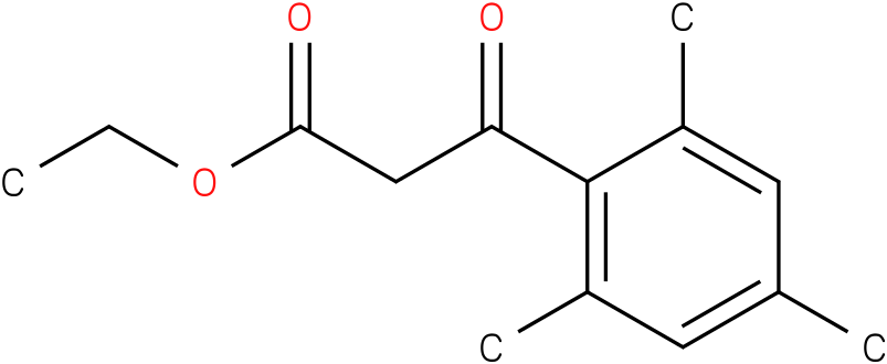 3-OXO-3-(2,4,6- TRIMETHYL-PHENYL)-PROPIONIC ACID ETHYL ESTER