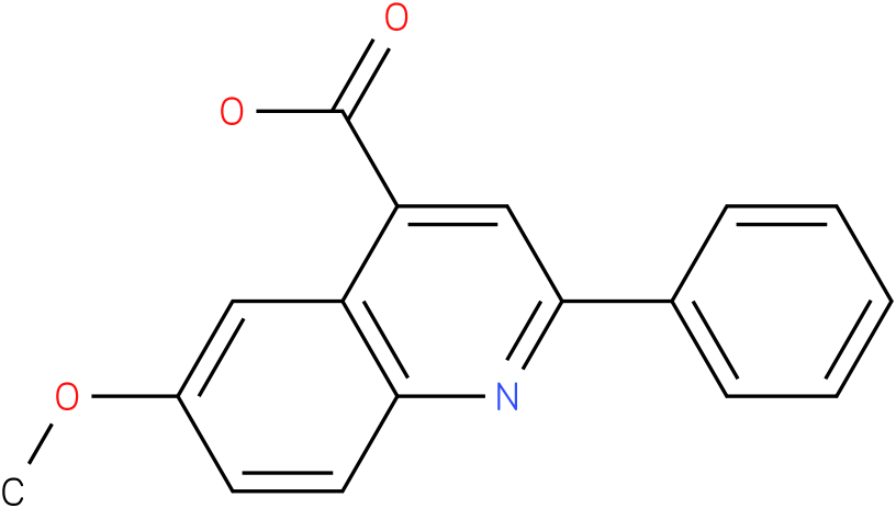 4-QUINOLINECARBOXYLIC ACID,6-METHOXY-2-PHENYL-