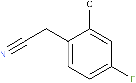2-(4-fluoro-2-methylphenyl)acetonitrile