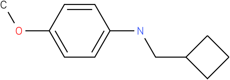N-(cyclobutylmethyl)-4-methoxybenzenamine