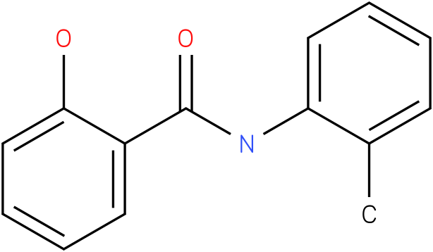 BENZAMIDE,2-HYDROXY-N-(2-METHYLPHENYL)-