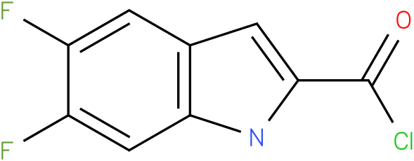 5,6-DIFLUORO-1H-INDOLE-2-CARBONYL CHLORIDE