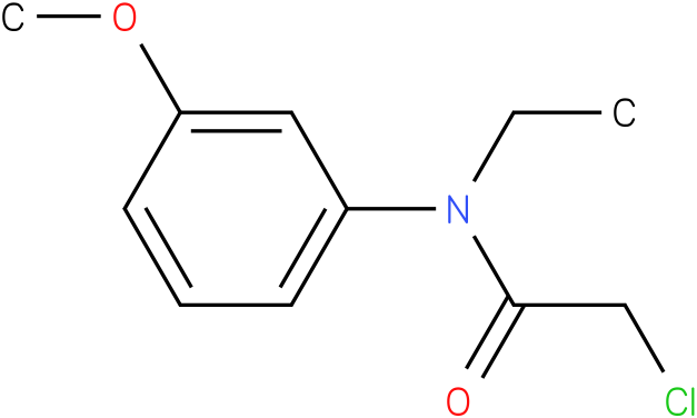 2-chloro-N-ethyl-N-(3methoxyphenyl)acetamide