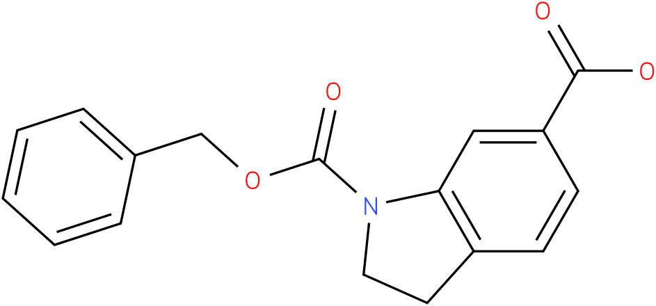 1-((BENZYLOXY)CARBONYL)INDOLINE-6-CARBOXYLIC ACID