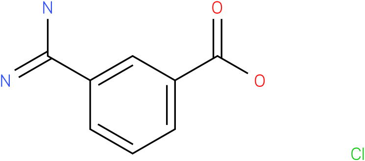 3-(aminoiminomethyl)-benzoic acid HCL