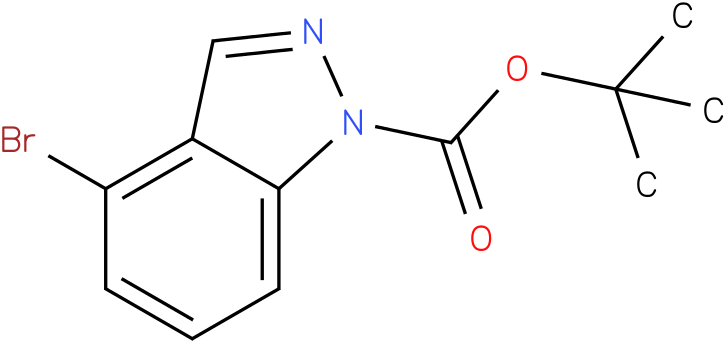 1H-INDAZOLE-1-CARBOXYLIC ACID,4-BROMO-,1,1-DIMETHYLETHYL ESTER