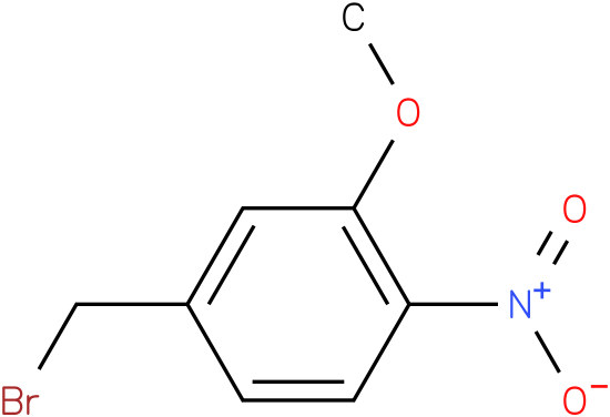 4-(bromomthyl-2-methoxy-1-nitrobenzene