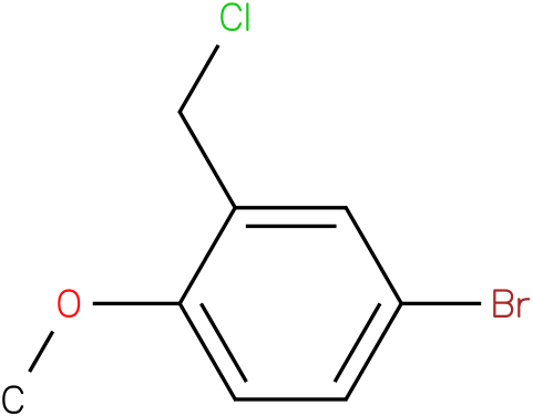 4-bromo-2-(chloromethyl)-1-methoxybenzene