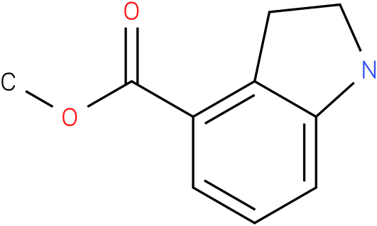 1H-INDOLE-4-CARBOXYLIC ACID,2,3-DIHYDRO-,METHYL ESTER