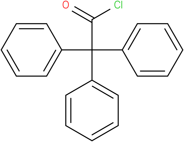 2,2,2-triphenylacetyl chloride