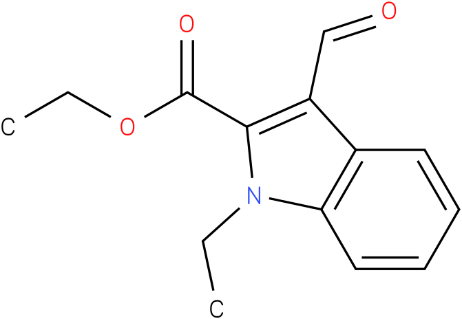 1H-INDOLE-2-CARBOXYLIC ACID,1-ETHYL-3-FORMYL-,ETHYL ESTER