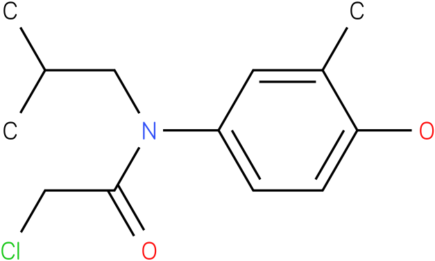 2-chloro-N-(4-hydroxy-3-methylphenyl)-N-isobutylacetamide