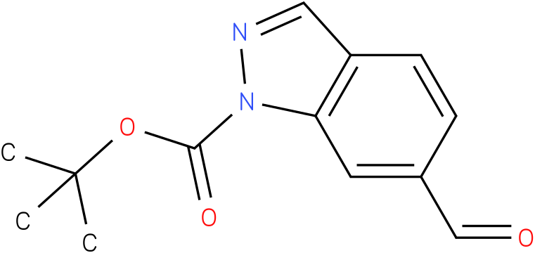 1H-INDAZOLE-1-CARBOXYLIC ACID,6-FORMYL-,1,1-DIMETHYLETHYL ESTER