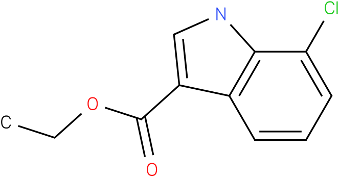 ETHYL 7-CHLORO-1H-INDOLE-3-CARBOXYLATE
