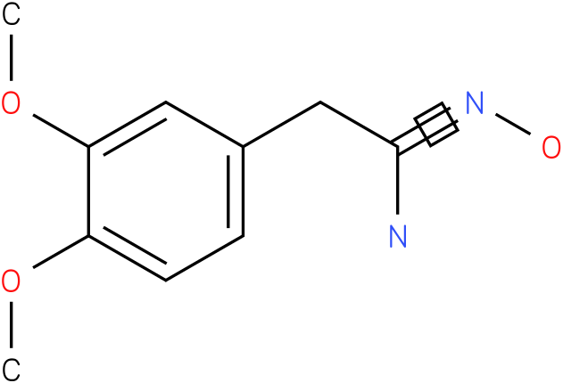 BENZENEETHANIMIDAMIDE,N-HYDROXY-3,4-DIMETHOXY-