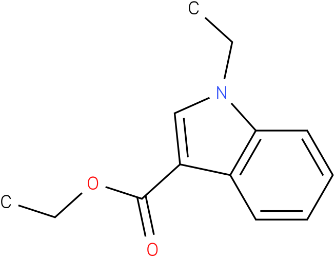 1H-INDOLE-3-CARBOXYLIC ACID,1-ETHYL-,ETHYL ESTER
