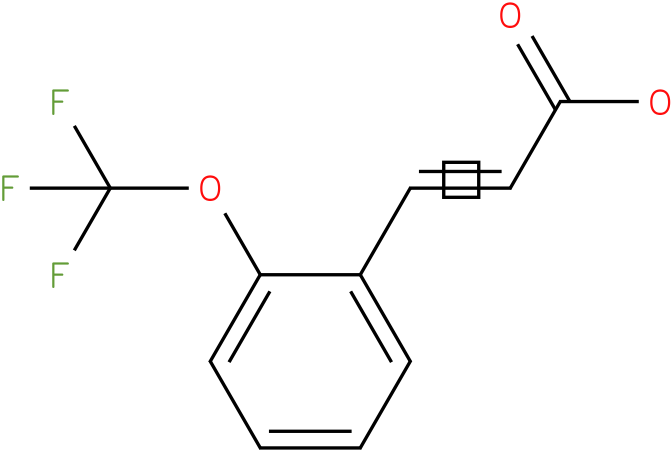 2-(trifluoromethoxy)cinnamic acid