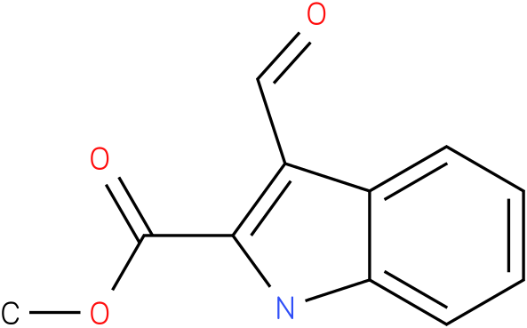 1H-INDOLE-2-CARBOXYLIC ACID,3-FORMYL-,METHYL ESTER
