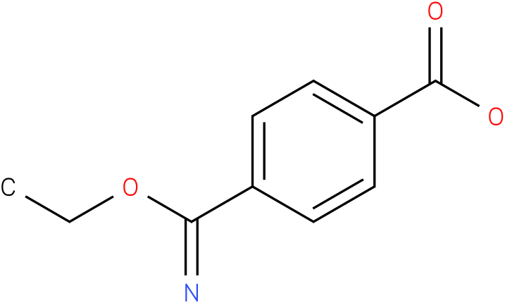 4-(ethoxy(imino)methyl)benzoic acid