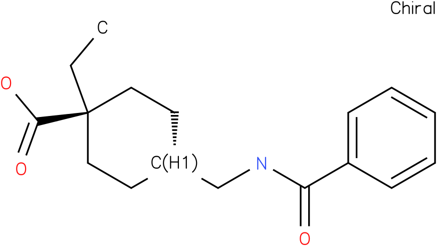 ethyl trans-4-(n-benzoylaminomethyl)cyclohexane-1-carboxylic acid