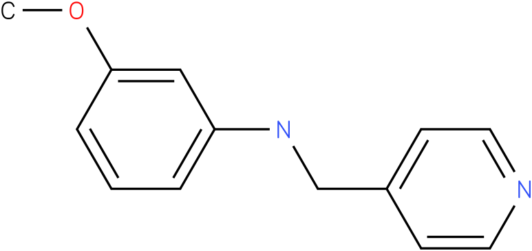 3-methoxy-N-((pyridin-4-yl)methyl)benzenamine