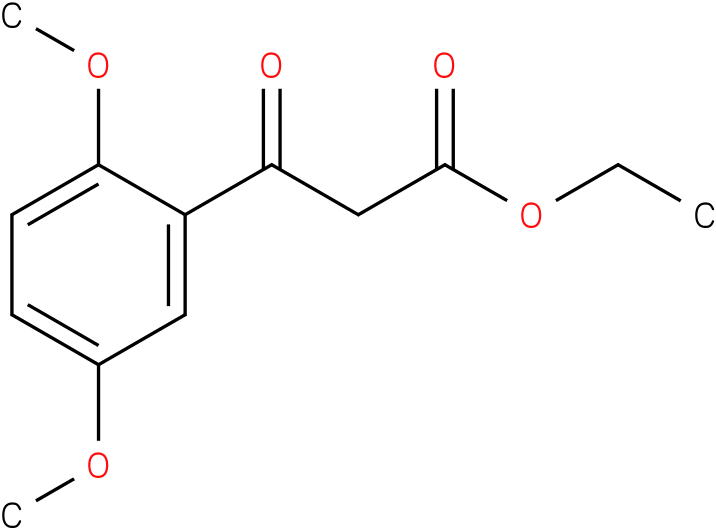 3-( 2,5-dimethoxy-phenyl)-3-oxo-propionic acid ethyl ester