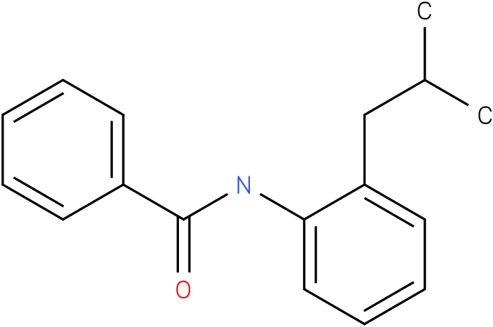 BENZAMIDE,N-[2-(2-METHYLPROPYL)PHENYL]-