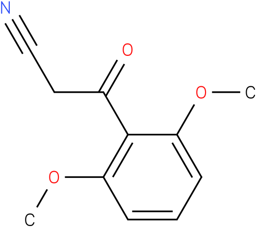 2,6-Dimethoxybenzoylacetonitrile