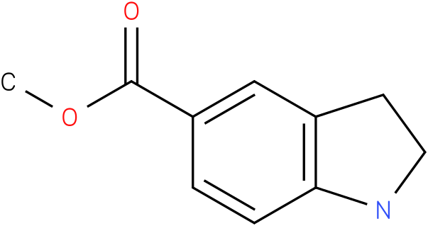 1H-INDOLE-5-CARBOXYLIC ACID,2,3-DIHYDRO-,METHYL ESTER