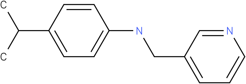 4-isopropyl-N-((pyridin-3-yl)methyl)benzenamine