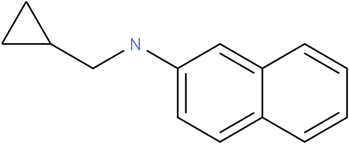 N-(cyclopropylmethyl)naphthalen-2-amine