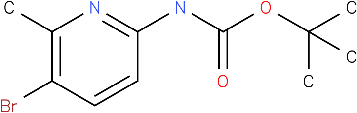 Carbamic acid,N-(5-bromo-6-methyl-2-pyridinyl)-,1,1-dimethylethyl ester