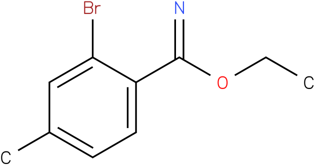 ethyl 2-bromo-4-methylbenzimidate