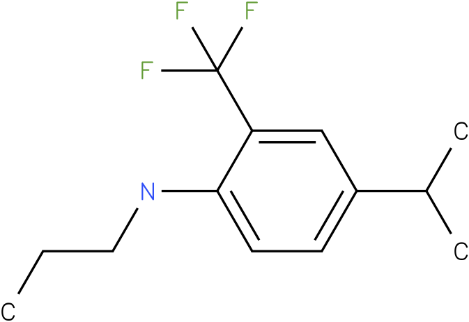 2-(trifluoromethyl)-4-isopropyl-N-propylbenzenamine