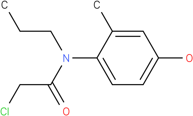 2-chloro-N-(4-hydroxy-2-methylphenyl)-N-propylacetamide