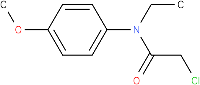 2-chloro-N-ethyl-N-(4-methoxyphenyl)acetamide